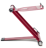 Crane Stand Classic Color Collection: Crimson DJ Laptop Stand