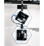ADJ ADJ System of Five (5) 3D Vision Plus Panels and All Cables Needed