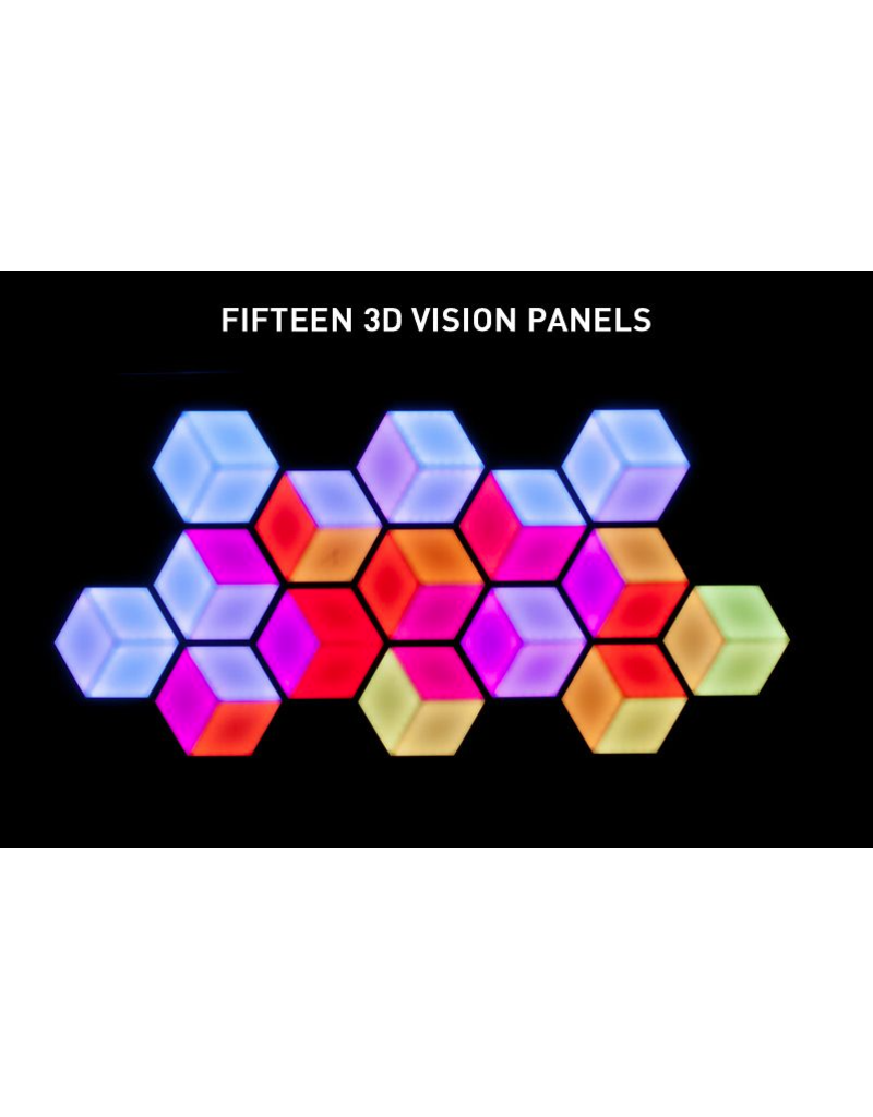 ADJ ADJ System of Fifteen (15) 3D Vision Panels and All Cables Needed
