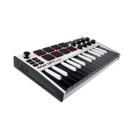 Akai Professional MPK MINI Mk3 White SE Compact Keyboard and Pad Controller