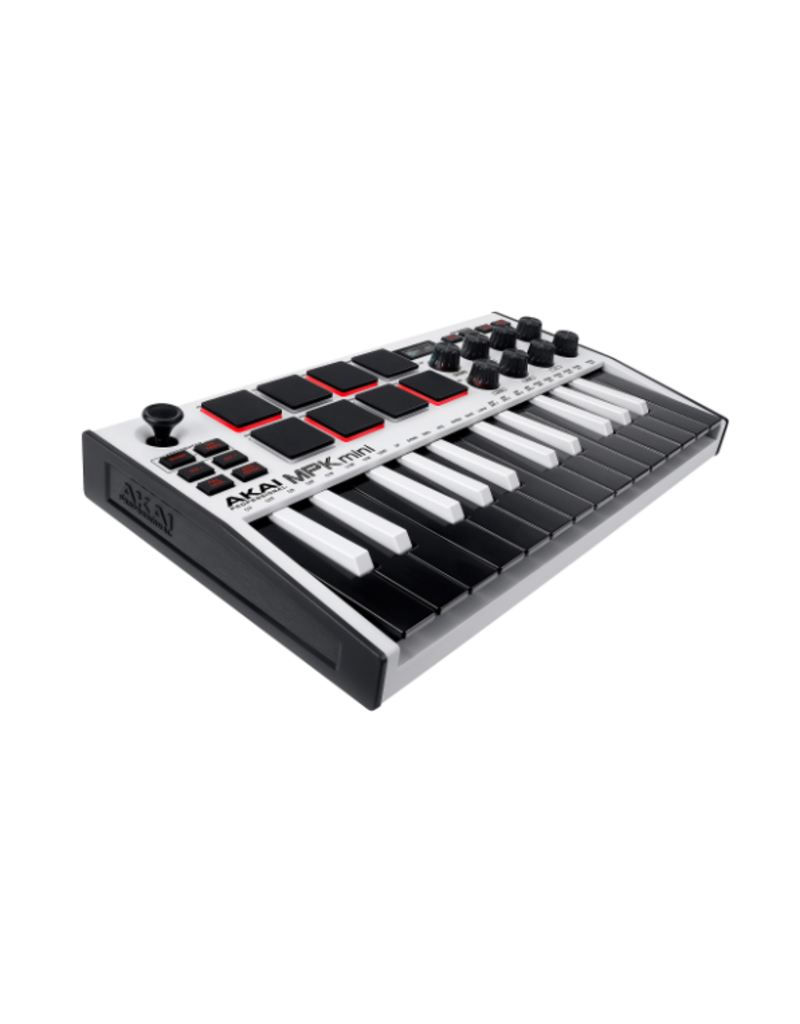 Akai Professional MPK MINI Mk3 White SE Compact Keyboard and Pad Controller