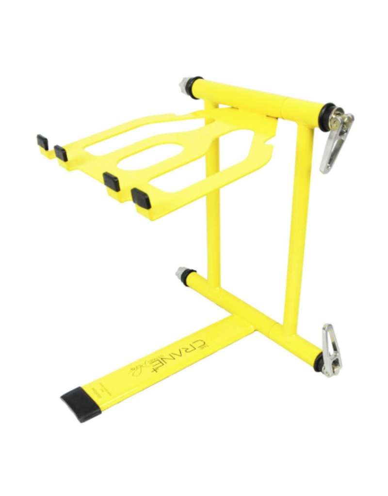 Crane Stand Classic Color Collection: Yellow DJ Laptop Stand
