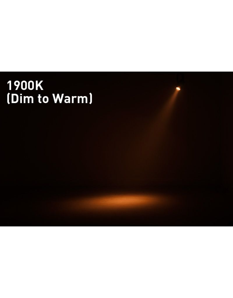ADJ ADJ Saber Spot DTW Compact Spot Fixture with 15w Warm White LED