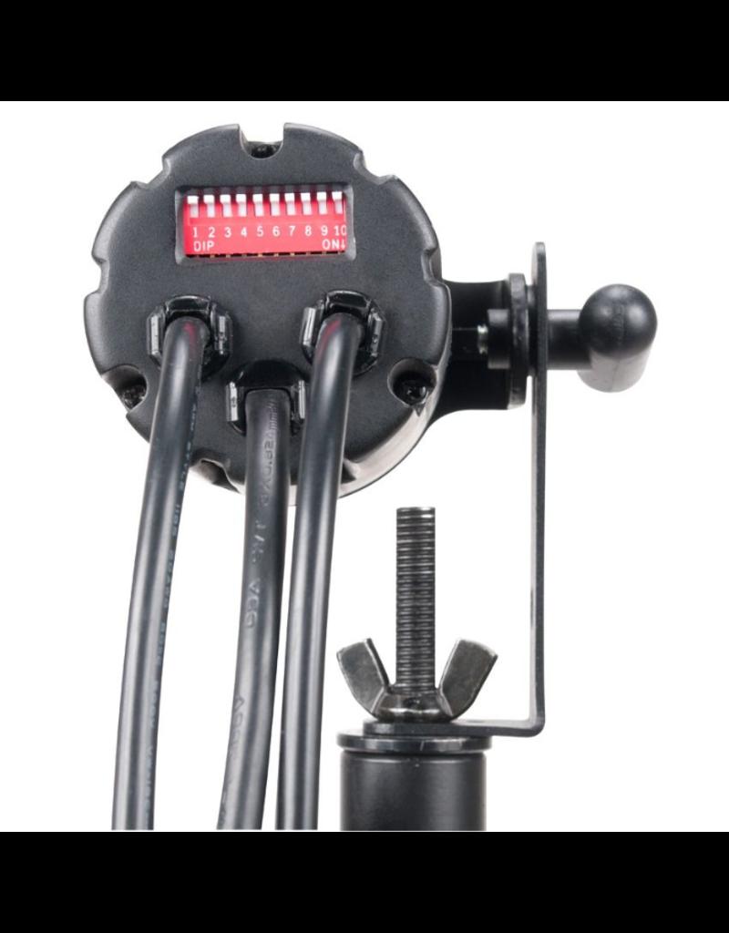 ADJ ADJ Pinspot LED Quad DMX 8w RGBW LED Pinspot with Remote Control