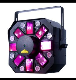 ADJ ADJ Startec Stinger II 3-FX-IN-1 Moonflower + Red and Green Galaxian Laser + UV LED