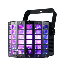 ADJ ADJ Startec Mini Dekker LZR 2-FX-IN-1 Dual 10w RGBW LED Moonflower + Red and Green Laser