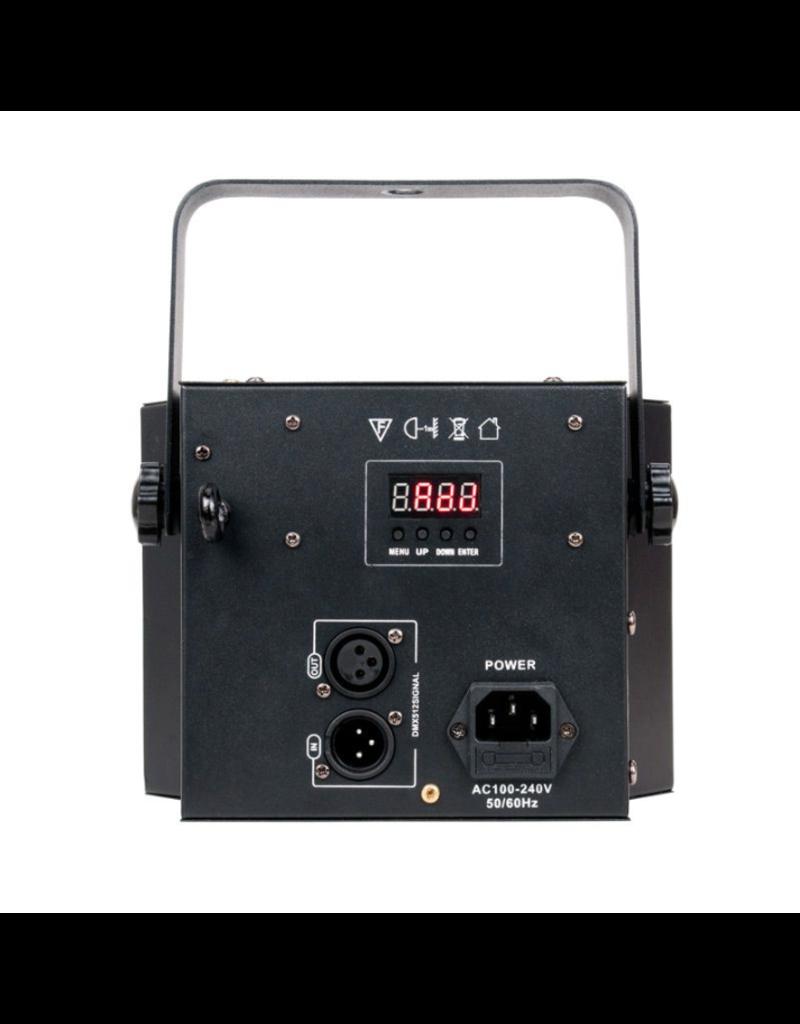 ADJ ADJ Startec Mini Dekker LZR 2-FX-IN-1 Dual 10w RGBW LED Moonflower + Red and Green Laser