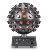 ADJ ADJ Startec Starburst LED Sphere Effect Rotates to Music and Shoots Out RGBWAP Beam Effects