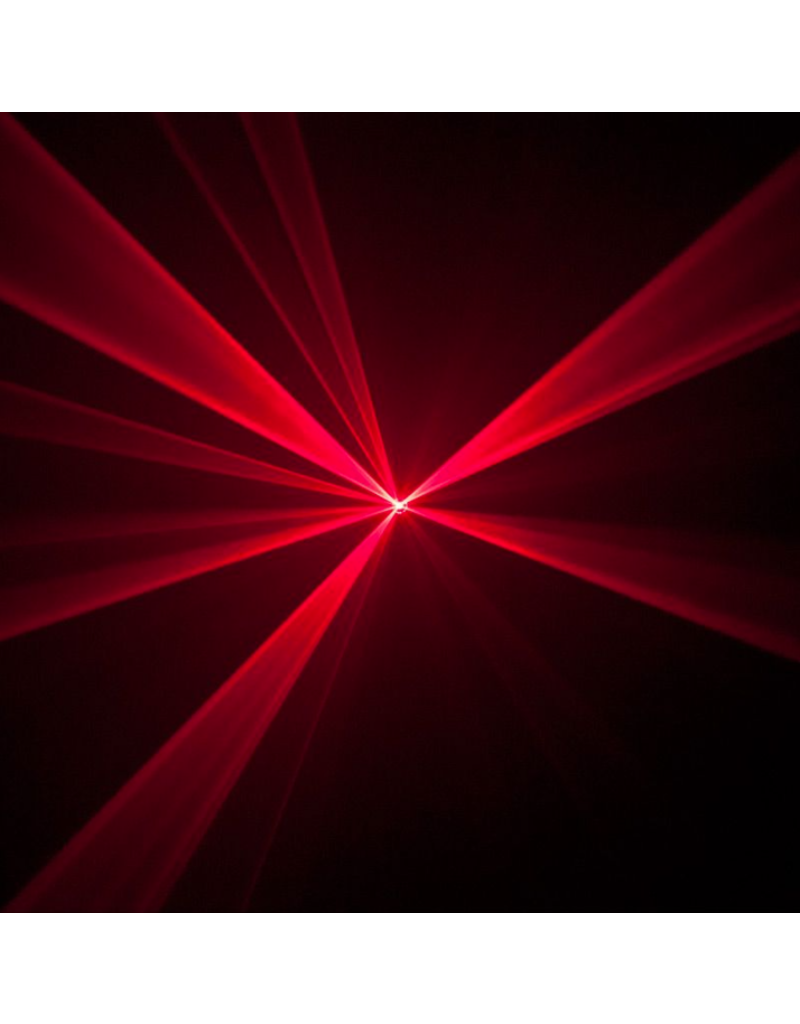 ADJ ADJ Ani-Motion Laser 36 Patterns + 22 Static Effects in Red and Green