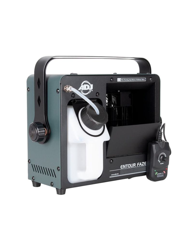 ADJ ADJ Entour Faze Jr. 200w Mobile Faze Machine with Rapid Heater Technology