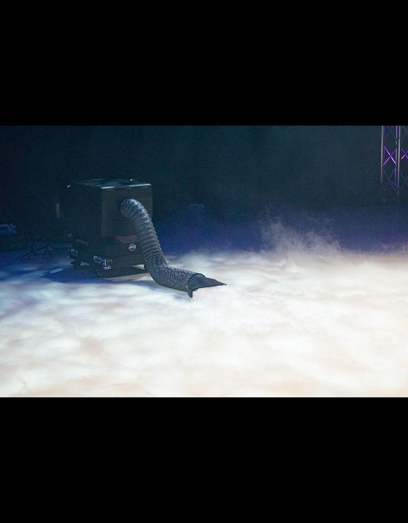 ADJ ADJ Entour Ice Tour Grade Low-lying Fog Machine Uses Dry Ice and Water