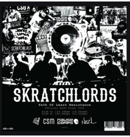 "Cut & Paste Path of Least Resistance: The Skratchlords  7"" Scratch Record - Cut & Paste Records"