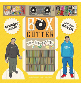 "Woodwurk Records Box Cutter by DJ Woody feat. Ball-Zee 12"" Scratch Record"