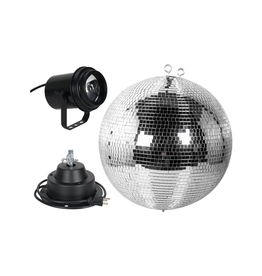 """ADJ ADJ M-600L 16"""" Mirror Ball Package includes Motor & Pinspot"""