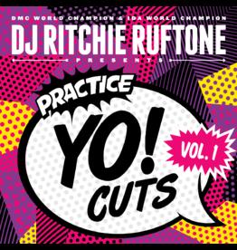 """Practice Yo! Cuts Ritchie Ruftone Practice Yo! Cuts Vol. 1 12"""" Scratch Record"""