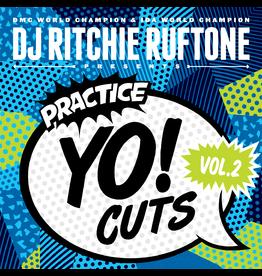 """Practice Yo! Cuts Ritchie Ruftone Practice Yo! Cuts Vol. 2 12"""" Scratch Record"""