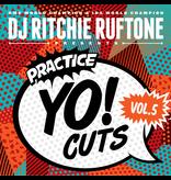 "Turntable Training Wax Ritchie Ruftone Practice Yo! Cuts Vol. 5 12"" Scratch Record"
