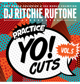 """Practice Yo! Cuts Ritchie Ruftone Practice Yo! Cuts Vol. 5 12"""" Scratch Record"""