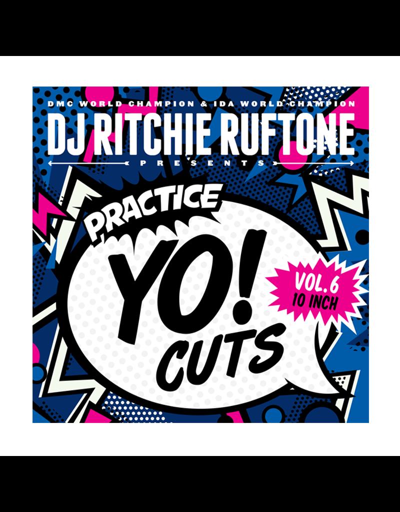 "Turntable Training Wax Ritchie Ruftone Practice Yo! Cuts Vol. 6 10"" Scratch Record"