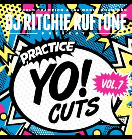 """Practice Yo! Cuts Ritchie Ruftone Practice Yo! Cuts Vol. 7 12"""" Scratch Record"""