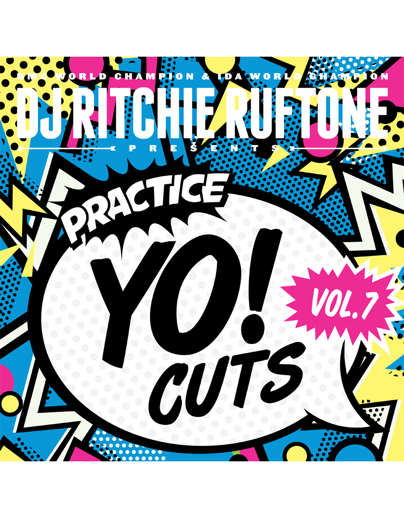"Turntable Training Wax Ritchie Ruftone Practice Yo! Cuts Vol. 7 12"" Scratch Record"