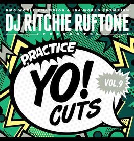 "Turntable Training Wax Ritchie Ruftone Practice Yo! Cuts Vol. 9 12"" Scratch Record"