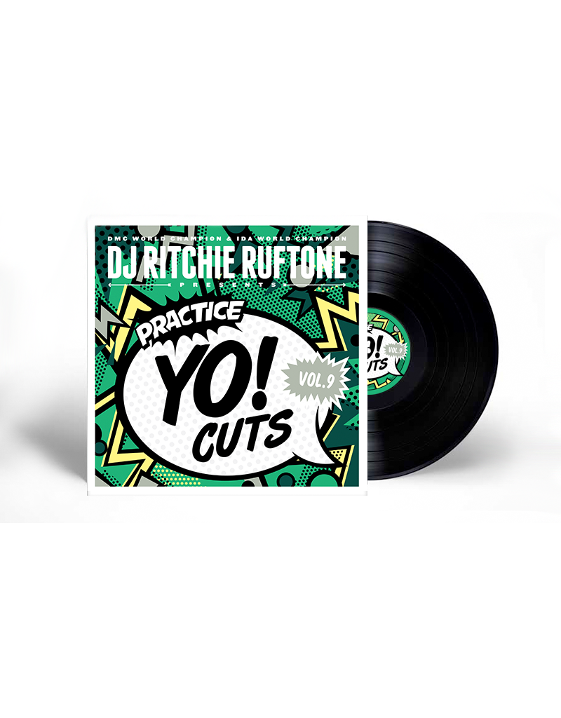 """Practice Yo! Cuts Ritchie Ruftone Practice Yo! Cuts Vol. 9 12"""" Scratch Record"""
