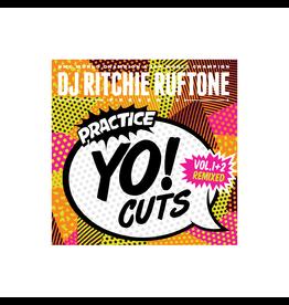 "Turntable Training Wax Ritchie Ruftone Practice Yo! Cuts Vol. 1 + 2 Remixed 7"" Scratch Record"
