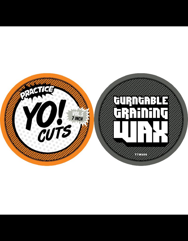 "Turntable Training Wax Ritchie Ruftone Practice Yo! Cuts Vol. 5 7"" Scratch Record"