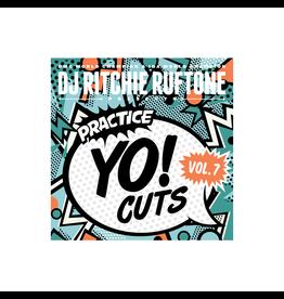 """Practice Yo! Cuts Ritchie Ruftone Practice Yo! Cuts Vol. 7 7"""" Scratch Record"""
