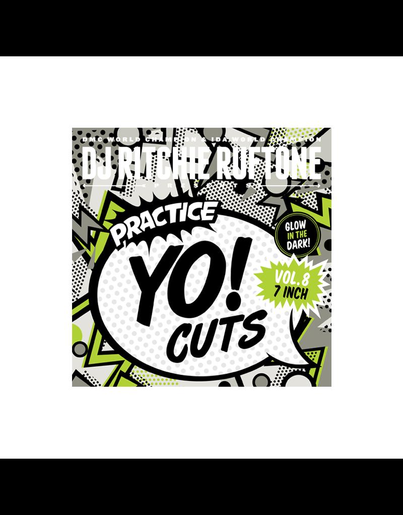 """Practice Yo! Cuts Ritchie Ruftone Practice Yo! Cuts Vol. 8 7"""" Scratch Record"""