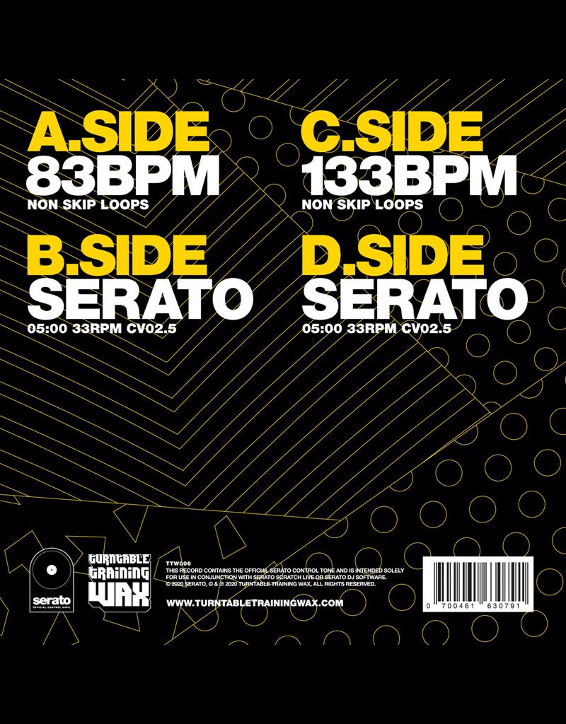 "Turntable Training Wax Ritchie Ruftone Practice Yo! Cuts 2x7"" Serato Control Vinyl"