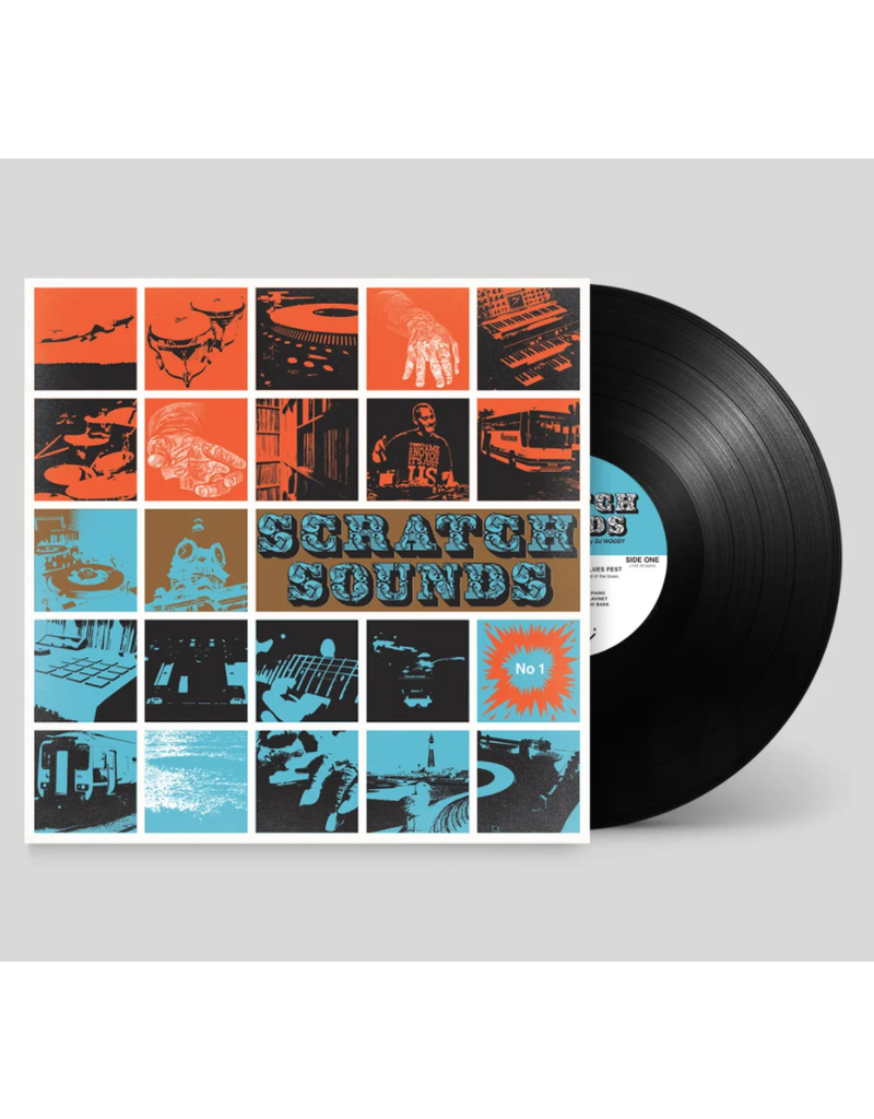 """Woodwurk Records Scratch Sounds No 1 (Blues Fest) by DJ Woody 12"""" Scratch Record"""