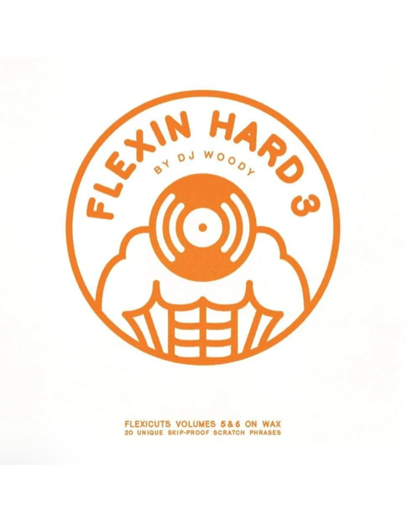 "Woodwurk Records Flexin' Hard Vol 3 by DJ Woody 12"" Scratch Record"