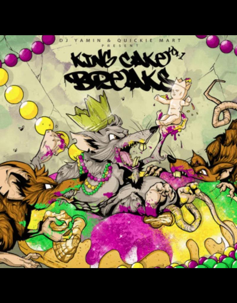 Bag of Items DJ Yamin & Quickie Mart - King Cake Breaks Vol. 1 LP