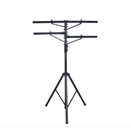 ADJ ADJ LTS-1 Heavy Duty 12 ft Tripod with 1 T Bar & 2 Side Bars