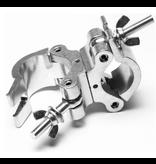 ADJ ADJ Proswivel Clamp Heavy Duty Dual Swivel Clamp For 50mm Tubing
