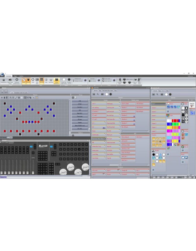 ADJ ADJ COMPU CUE BASIC DMX to PC Interface for Compu Show Software