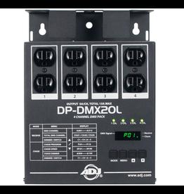 ADJ ADJ DP-DMX20L 4-Channel Portable DMX Dimmer/Switch Pack