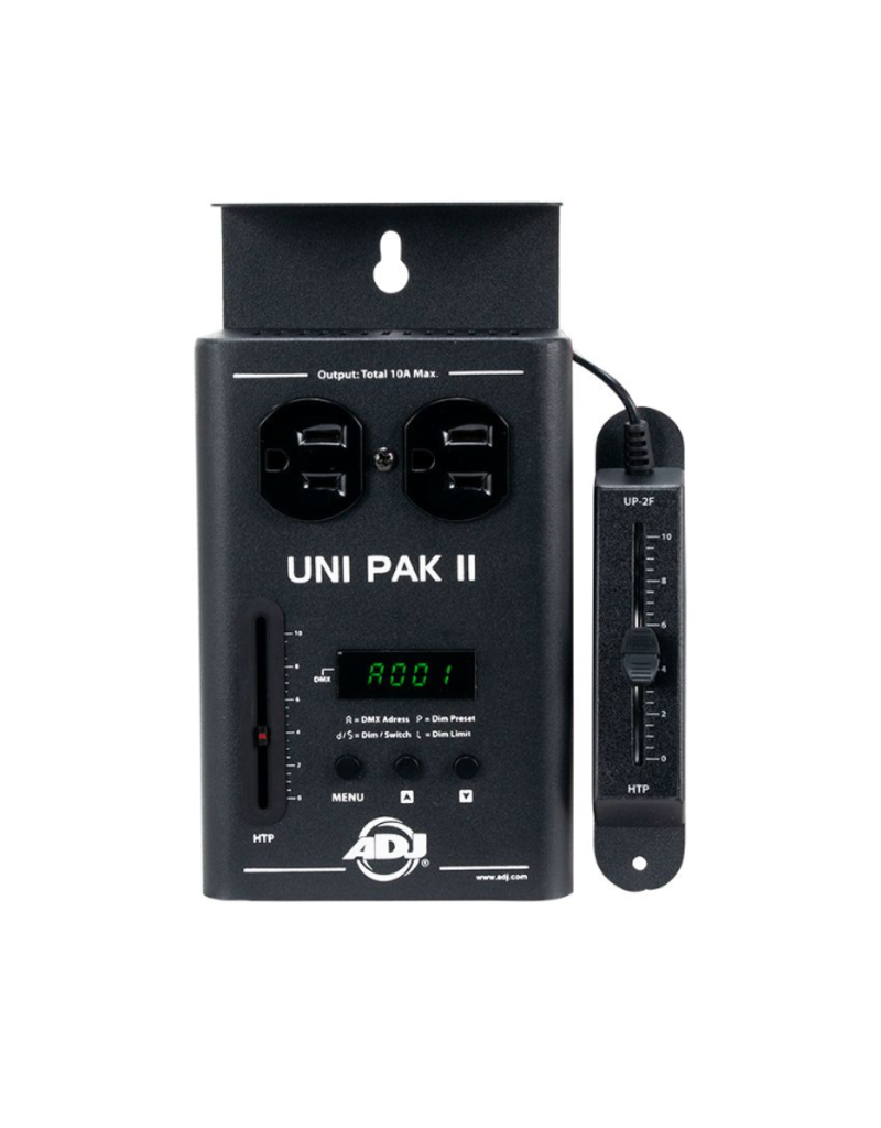 ADJ ADJ  UNI PAK II 1-Channel DMX Dimmer/Switch Pack