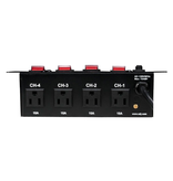 ADJ ADJ PC-4 A/C Power Center with 4 Lighted Switches