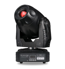 Eliminator Eliminator Lighting Stealth Spot Moving Head 60w White LED with 7 Colors