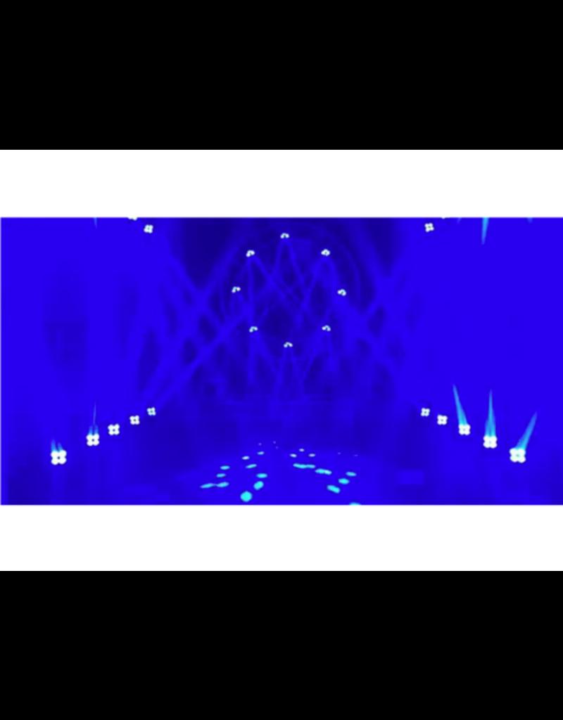 Eliminator Eliminator Lighting Stealth Craze Moving Head 4 x 10w White LEDs with 3 Colors