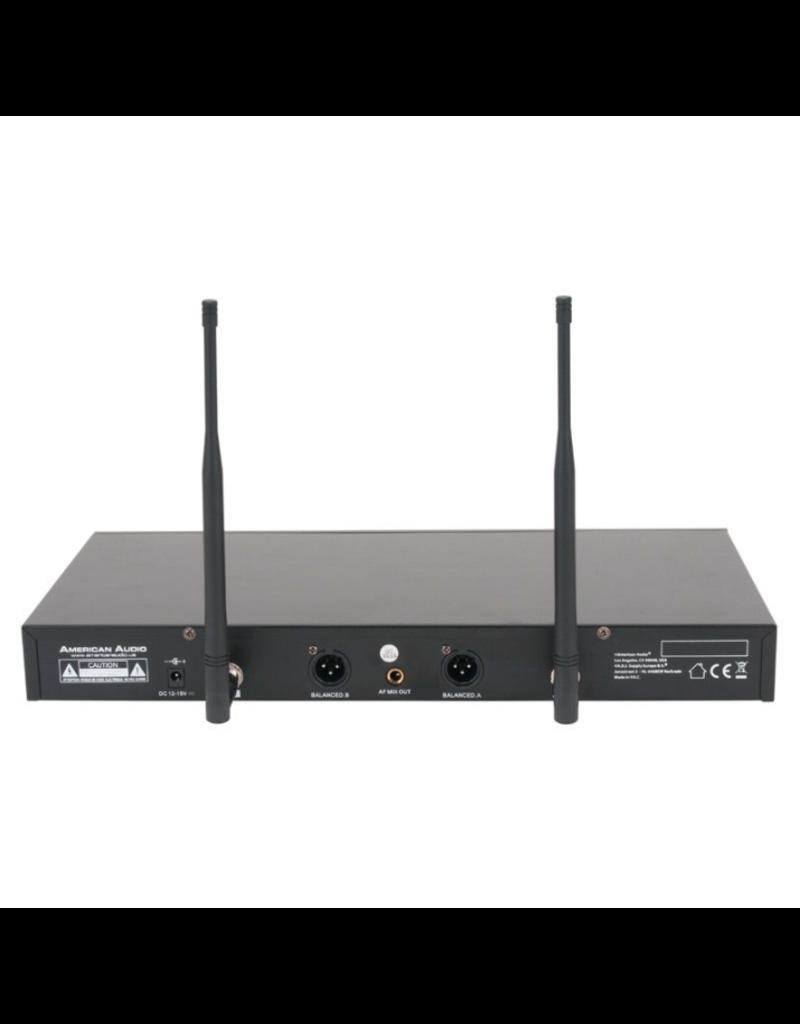 American Audio American Audio WM-219 2-Channel UHF Wireless Microphone System