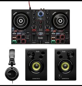 Hercules Hercules DJLearning Kit Controller, Monitor Speakers, Headphones, DJUCED Software
