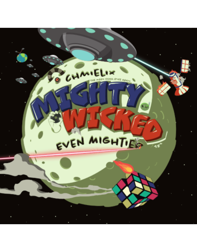 """Skratchorama Records Chmielix – Mighty Wicked Even Mightier 12"""" Scratch Record"""