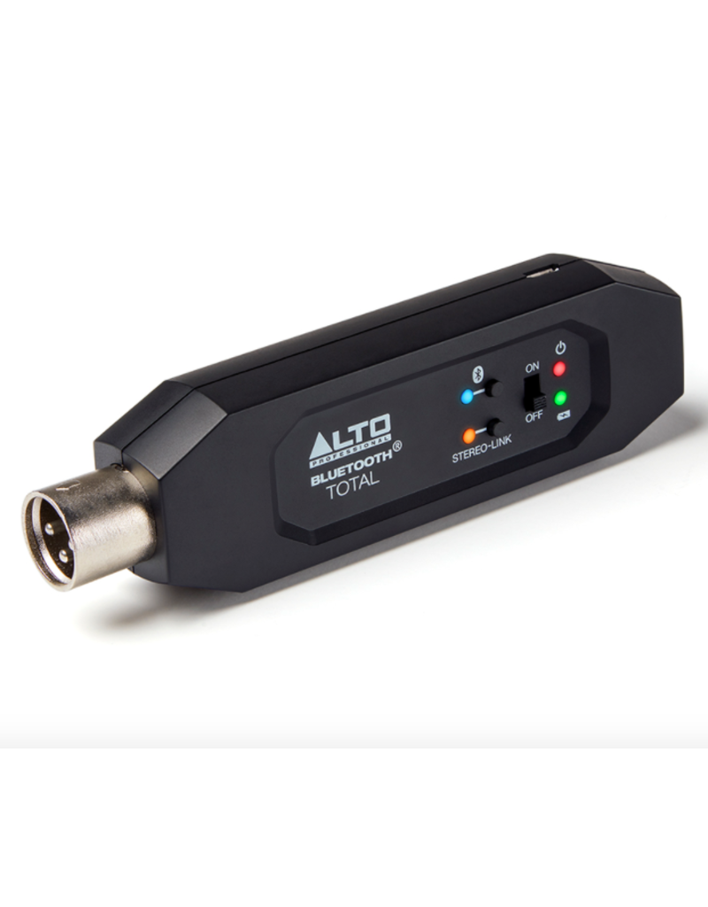 Alto Bluetooth Total 2 XLR-Equipped Rechargeable Bluetooth® Receiver