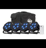ADJ ADJ Mega Flat Hex Pak All-in-One  Up Lighting Kit