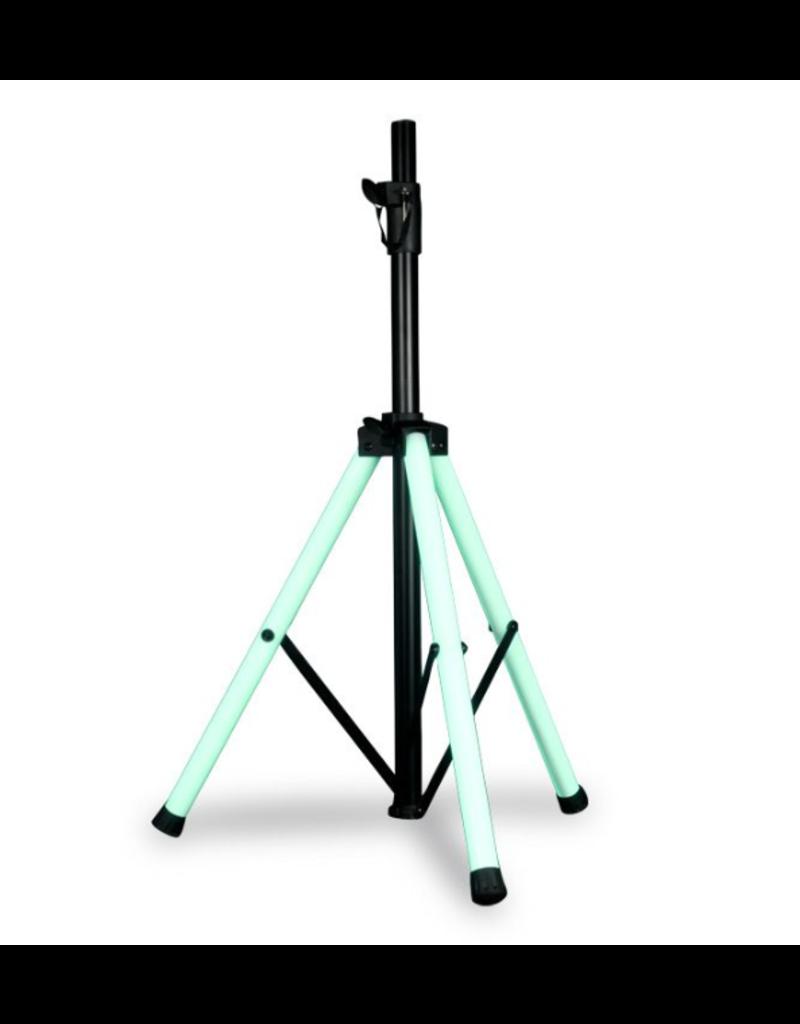ADJ ADJ Color Stand LED Speaker Stand with LED Lighting & IR Control