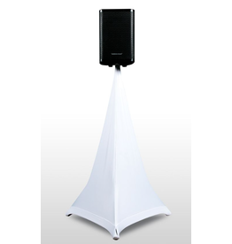 ADJ ADJ Event Stand Scrim 3W 3 Sided White Speaker Stand Scrim